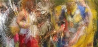 Danny Johananoff - Pow Wow Archival Pigment Print on Plexiglass, Photography