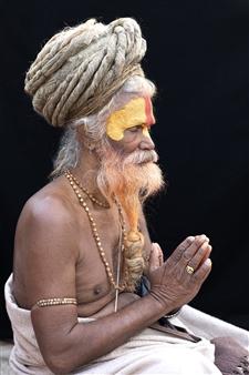 Safaa Kagan - Sudhu Man 2 Archival Pigment Print, Photography