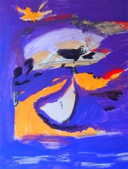 Clea von Döhren - Dreamtime Acrylic on Canvas, Paintings