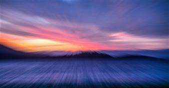 Renzo Sanchez-Silva - Sunrise at Pebble Beach Metal Print, Photography