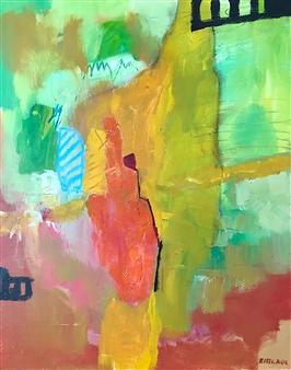 Paul Kittlaus - Untitled #207 Acrylic on Canvas, Paintings