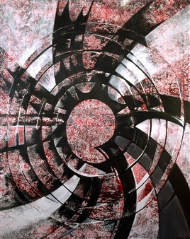 Dar Wolfe - Continuum Acrylic on Canvas, Paintings
