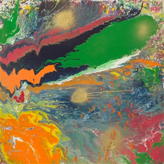 Abigail Custis - Abundance Acrylic on Canvas, Paintings
