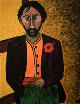 Iva Milanova - The Man Oil on Canvas, Paintings