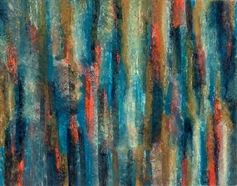 Ashton Lally - The Falls Acrylic on Canvas, Paintings