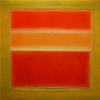 María de Echevarría - Glow Oil over Acrylic on Canvas, Paintings