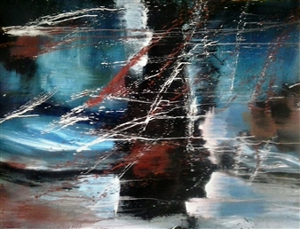 Luisa Vicente Isola - Sin Titulo X Acrylic on Canvas, Paintings