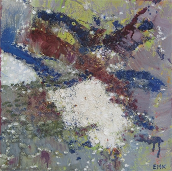 Else Husted Kjær - Nature - Spirits from Scandinavien #4 Oil on Canvas, Paintings