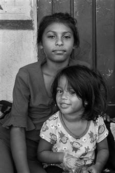 Ada Luisa Trillo - The Migrant Caravan - Sisters Photograph on Fine Art Paper, Photography