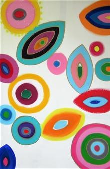 Claudia Mini - Mikroskopie Acrylic on Canvas, Paintings