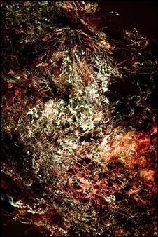 Paciel González - Nebulosa 1190 Digital Print and Acrylic on Canvas, Prints