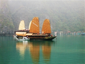 Wallace - Valentine (Ha-Long Bay) Digital C-Print, Photography