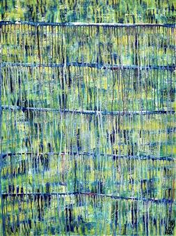 Sierra Barnes - Feeling Gratitude Acrylic on Canvas, Paintings