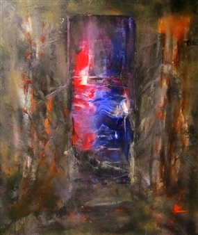Henrik Sjöström - Bill Sykes Acrylic & Spraypaint on Canvas, Paintings
