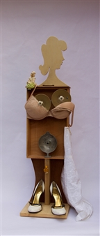 Emil Silberman - Woman Wood & Mixed Media, Mixed Media