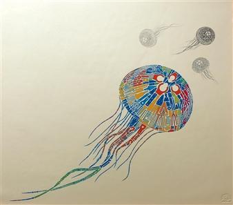 Yoshiki Uchida - Chaos Lithograph, Prints