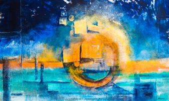 Kirana Haag - Under the Sign of the Sun Mixed Media