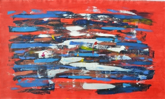 Carlos E. Porras M. - Les Couleurs Acrylic on Canvas, Paintings