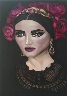 Katha B - Trinity Oil on Canvas, Paintings