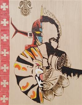 Carlo Proietto - Daltanious Pyrography, Paintings