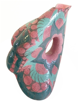 Nora Pineda - Paisley Ceramic, Sculpture