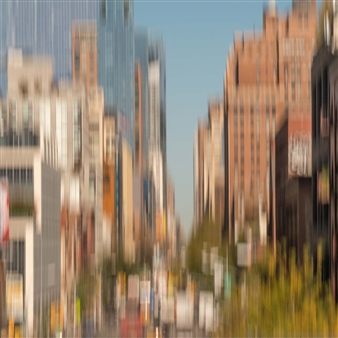 Gottfried Roemer - New York Downtown Photograph on Aluminum, Photography