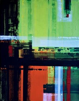 Abenamar Bauta Delgado - De la serie Atardeceres 3 Acrylic on Canvas, Paintings