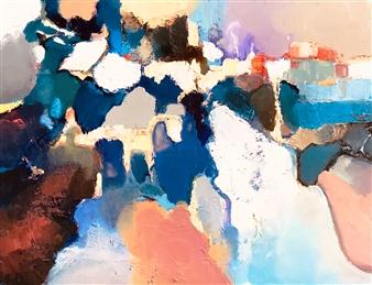 Monika Gloviczki - Loneliness Oil on Panel, Paintings