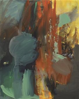 Gerlinde Amei Wöllmer - Libre Acrylic & Chalk on Canvas, Mixed Media
