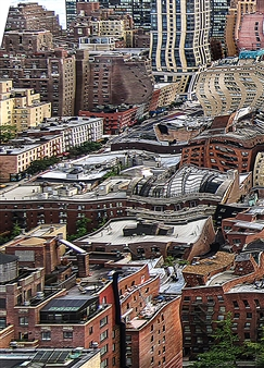 Shifra Levyathan - Future Cityscape 01 Digital C-Print