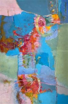 Jenny Shaw - Cadenza Mixed Media on Canvas, Mixed Media