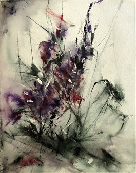 Dana Ingesson - Fairy Kisses Watercolor on Paper, Paintings