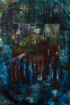 Britt-Marie Tidemand - Abstract Oil on Canvas, Paintings