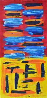 Carlos E. Porras M. - Nikus Nikus II Acrylic on Canvas, Paintings