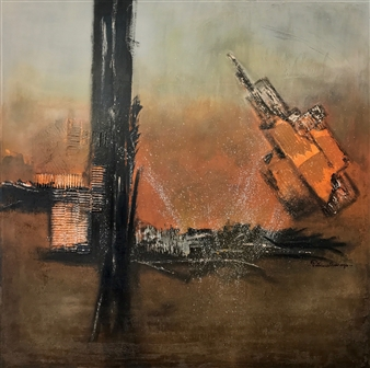 Patricia Queiruga - Alquimia Acrylic on Canvas, Paintings