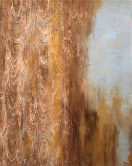 Mona Taqi - Summer House Acrylic on Canvas, Paintings