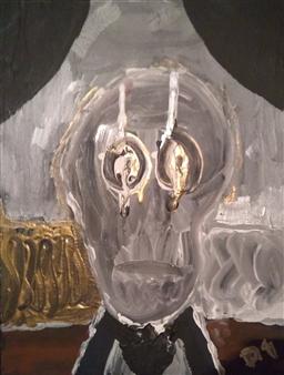 David Morrison - Butler Acrylic on Canvas, Paintings