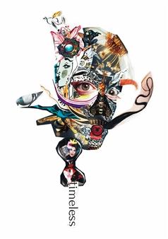 GLIL - Dali Paper/Collage, Mixed Media