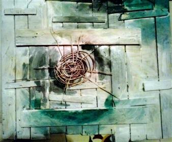 Luisa Vicente Isola - Naturaleza Acrylic on Wood, Paintings