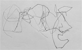 Marek Wasylewicz - VvA-C Pencil on Paper, Drawings