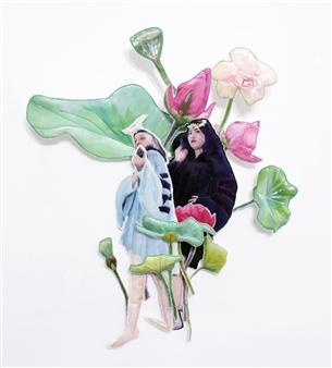 Eunmi Park - I am the Best Mixed Media Sculpture, Mixed Media