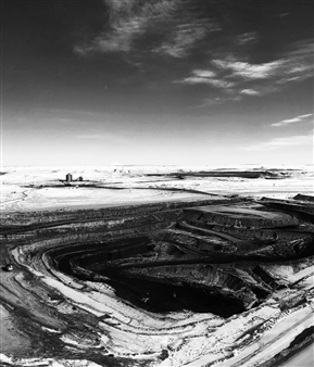 Chace Gray - Death of Coal Archival Pigment Print, Photography