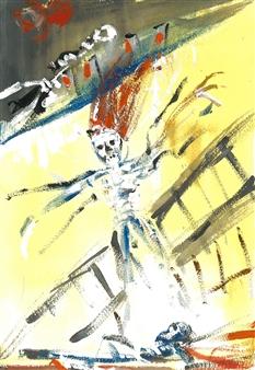 Bex Wilkinson - Humpty Dumpty Gouache, Paintings