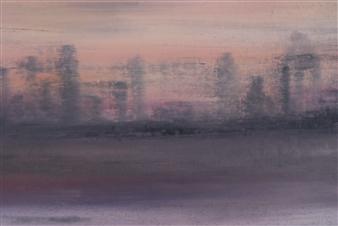 François-Jérôme Bringuier - Hudson River 2196 Oil on Canvas, Paintings