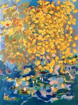 Paul Kittlaus - Untitled #127 Acrylic on Canvas, Paintings
