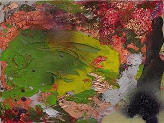 Oliwia Biela - New York Oil & Acrylic on Canvas, Paintings