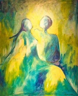 Aila Snickars - We Acrylic on Canvas, Paintings