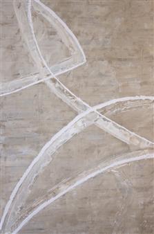 Tanja Skytte - Dancer #5 Acrylic on Canvas, Paintings