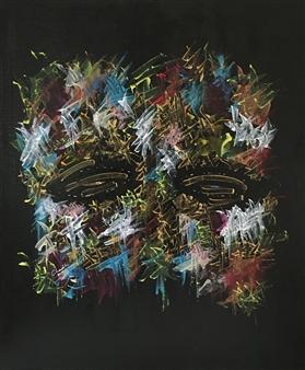 Talal Pascal Chadli - Reflet D'Ame 7 Acrylic on Canvas, Paintings