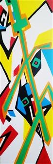 MaskOfWorro  - Kung Fu Mantis Acrylic with Satin Varnish Polymer, Paintings